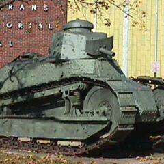 Танк M1917 вооруженный пулеметом