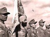 """Индийский добровольческий легион СС """"Свободная Индия"""""""