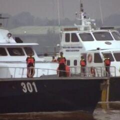 Морской патруль приступает к смене.
