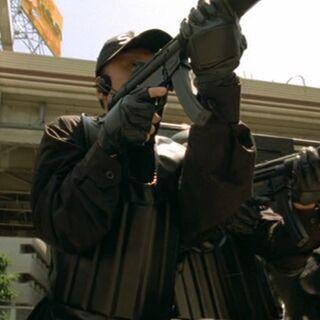 Операторы SAT с винтовками Heckler & Koch <a href=