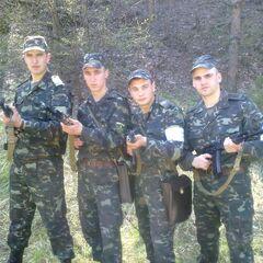 Младшие сержанты 1-го батальона, 2012 г.