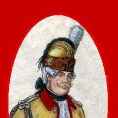 Capitaine aide-major Жан-Батист-Луи-Франсуа Буланжер Дюшамэль.