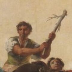 Фрагмент картины Франсиско Гойи