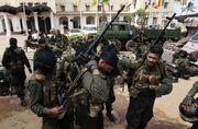 Sri Lankan army in the capital, Colombo, held a parade rehearsal. Sri Lanka will be held May 19 (6)