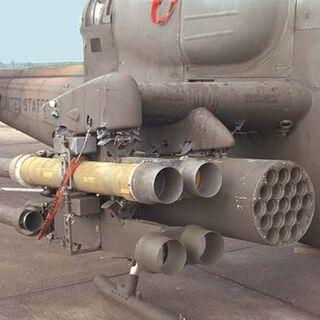TOW, установленные на вертолёт