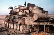 Destroyed ZSU-23-4