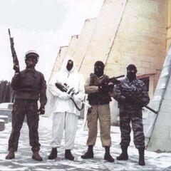 Снайперская группа.
