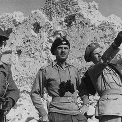 Командование 2-ого польского корпуса во время боёв в Италии.