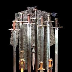 Оружие Судана, длинные мечи - каскара.