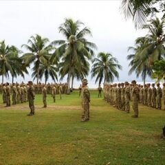 Австралийские солдаты.