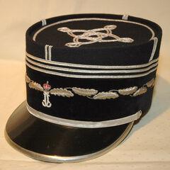 Кепи капитана жандармерии, 1980 год.