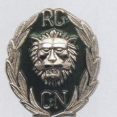 Эмблема жандармерии Гвинеи.