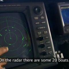 Радар Морской службы.