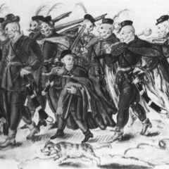 Гайдуки, 1601 - 1612 гг.