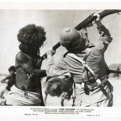 Британский колонист убивает Хадендоуа.