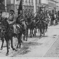Вступление РККА в Казань в 1918.