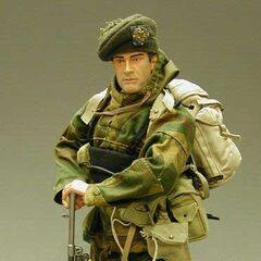 Британский коммандо с Bren Mk.I.