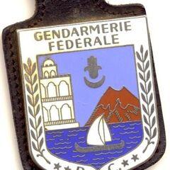 Эмблема жандармерии Комор.