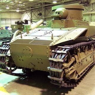 Танк Т1 в музее Абердина.