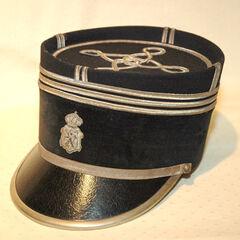 Кепи комиссара жандармерии, 1930 год.