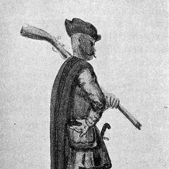 Выбранец, XVII век.