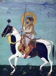 Shah Jahan Riding Stallion