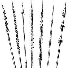 Стрелы с Соломоновых островов.