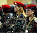 Амазонская гвардия Каддафи