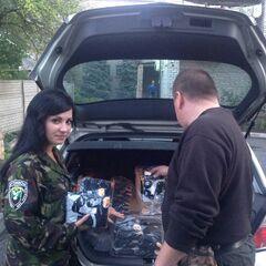 Гуманитарная помощь бойцам
