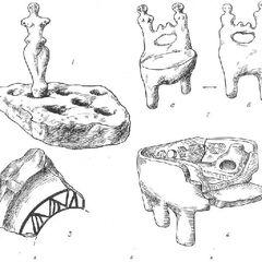 Глиняные статуэтки из Костиши:<br /> 2. Глиняный