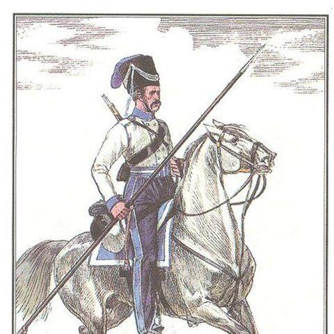 Всадник эскадрона Скаржинского.