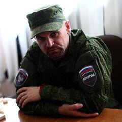 Комбриг Алексей Мозговой.