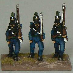 Егеря 1-го батальона.
