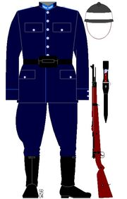 Gendarme, Luxembourg, 1939