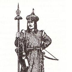 Янычар, XV век.