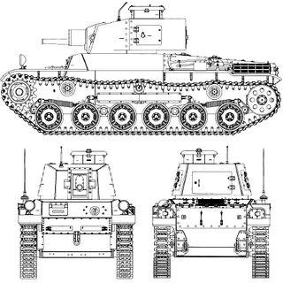 Проекции танка Хо-И.