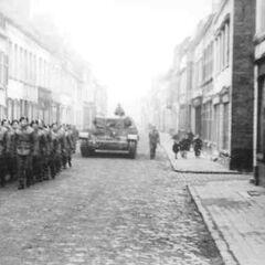 Похороны надпоручика и ротмистра Реникака, погибшего 12 ноября 1944 года.