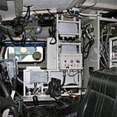 Место водителя КШМ Р-145БМА. Интерполитех-2008.