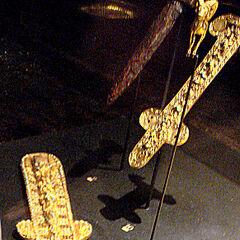 Золотые акинаки, Тилля-Тепе, 1 век н.э.