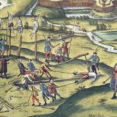 Гайдуки проводят казнь, 1617 год.