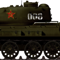 Тип 58 в Корее, 1954 г.