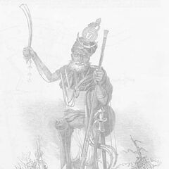 Вождь Акали, 1846 г.