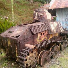 Один из Тип 95 Ха-Го, которые находятся на