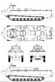 Ka tsu amphibious tracked landing vehicle-39019-500x737
