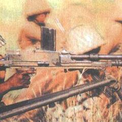 Солдат армии ЮАР с