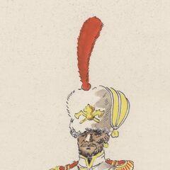 Сержант саперов 7-го линейного полка, 1815 г.