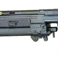 С подствольным гранатомётом HK 79.