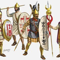 Карфагенская пехота.