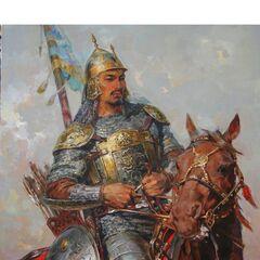 Казахский батыр.