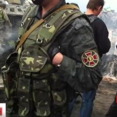 Гвардеец в Красноармейске, 11 мая 2014 г.